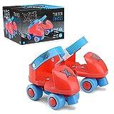 Xootz TY6067 Patins à roulettes Unisexe pour Enfant Rouge Taille Unique