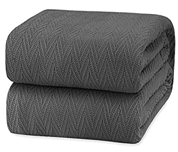 Best cotton thermal blanket king Reviews