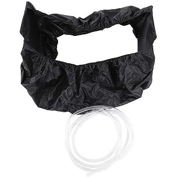 sacchetto di protezione pulito per lavaggio a parete elastico sacchetto di polvere impermeabile impermeabile in tessuto Oxford ispessito con tubi per acqua Sacchetto di pulizia per aria condizionata