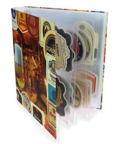 Álbum de tapa y cerveza 7922 safe álbum de fotos para cerveza tapa DIN A4 (vacío) con capacidad para 20 hojas de recambio para cerveza tapa no 5471 hasta 80/160 de cerveza con tapa