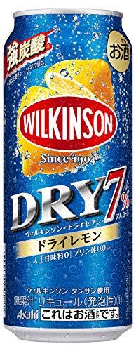 2019年発売 ウィルキンソン ドライセブン ドライレモン チューハイ 500ml×24本