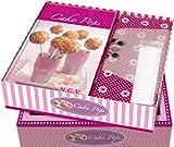 Buch-Box Cake Pops: Buch