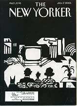 New Yorker Magazine January 17, 2005 Lorrie Moore, Jeffrey Toobin, Anime - Hayao Miyazaki, Art Spiegelman