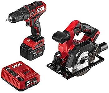 Skil PWRCore 12 Brushless 12V Cordless Drill Driver & Circular Saw