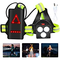 Lingsfire USB Cable Adjustable Reflective Running Lights