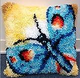Kit de gancho de cierre de cojín con patrón de mariposa (43 x...