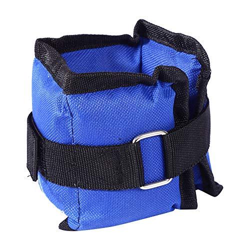 SH-RuiDu Knöchelgewichte Verstellbare Handgelenkbänder Beingewichtssätze für Fitness Gehübungen (1 Paar)