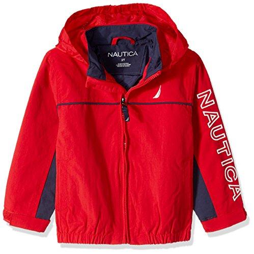 Nautica Little Boys' Anchor Jacket, Carmine, Small