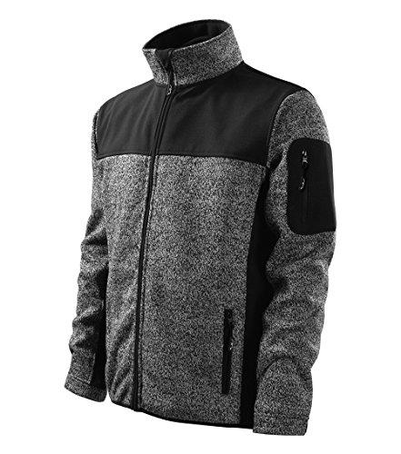 Casual en Softshell Veste outdoor Veste softshell – Multifonctions coupe-vent pour homme en deux Plusieurs tissus M noir