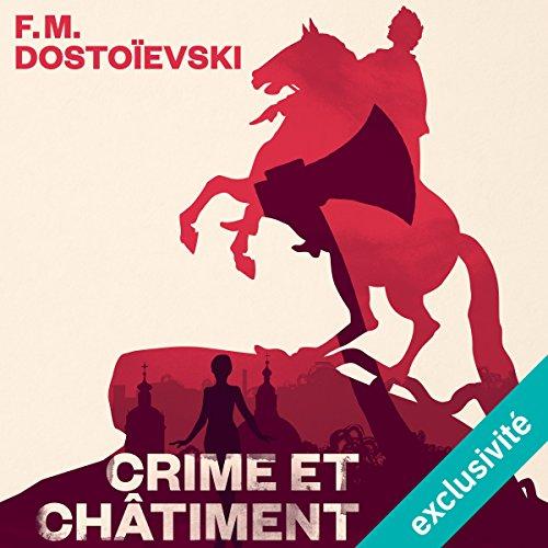 Crime et châtiment audiobook cover art