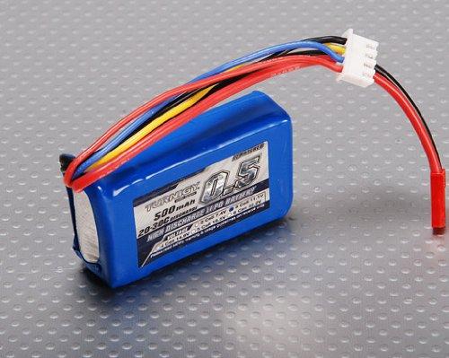 Turnigy - Batteria Lipo 500 mAh 3S 20C per modellismo