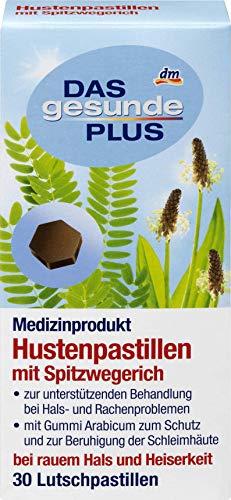 DAS gesunde PLUS Hustenpastillen mit Spitzwegerich, 30 St Medizinprodukt