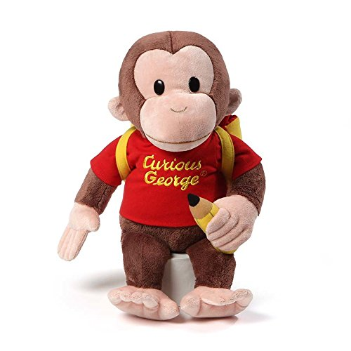 GUND Curious George Back To School …