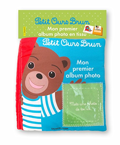 Mon album photo en tissu Petit Ours Brun