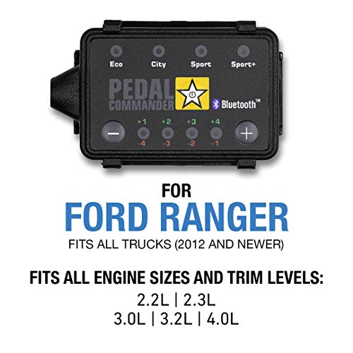 Pedal Commander - PC18 for Ford Ranger Trucks (2012 and newer) Fits All Engine Sizes and Trim Levels; XL, XLT, Lariat | Throttle Response Controller with Bluetooth