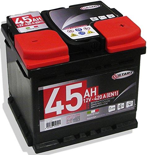Batteria Auto 40AH 12V 420A polo positivo destro Cassetta L1