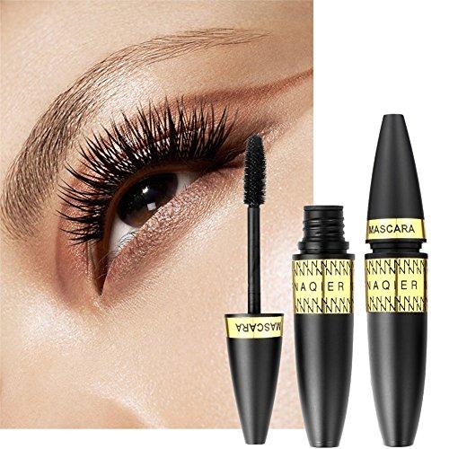 3D Fiber Lash Yiitay Long Curling Mascara Imperméable à l'eau Maquillage Cils Eye Lashes Extension Mascara Yeux Noir Extension de Cils Fou Long Style