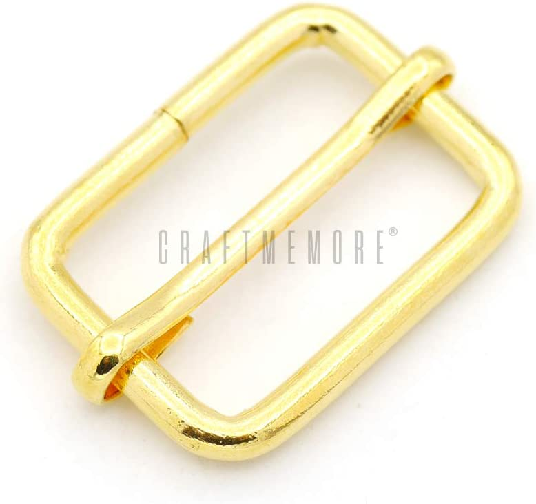 High material CRAFTMEMORE Triglide Slide Belt Keeper 5 3 8