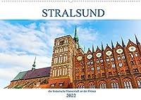 Stralsund - die historische Hansestadt an der Ostsee (Wandkalender 2022 DIN A2 quer): fotografische Impressionen aus Stralsund (Monatskalender, 14 Seiten )
