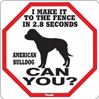Best american bulldog signs Reviews