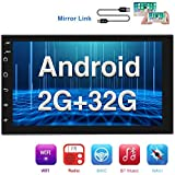 Best 2 Din Stereos - [2G+32G] Double Din Android Car Stereo with GPS Review