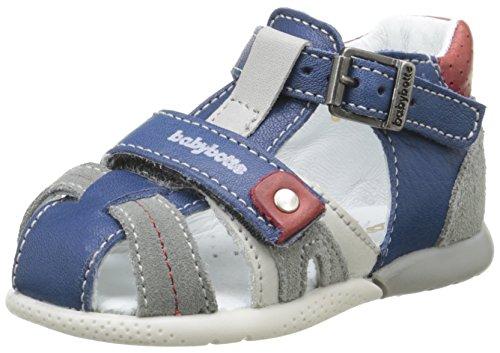 babybotte Geo, Chaussures Marche bébé garçon, Bleu (079 Jeans), 19