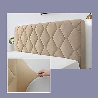 Cabecero Cover-Funda para Cabecero De Cama/Cubierta para Cabecero De Cama,Protector De Cabeza De Cama De Suave Anticolisión Respaldo (Color : Camel(A), Size : 210cm(83