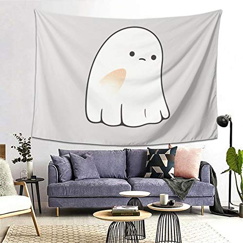 Sad Ghost Tapestry Art Tapestry Handicraft Party Decoration Banner Garland Event Banner and Home Decoration