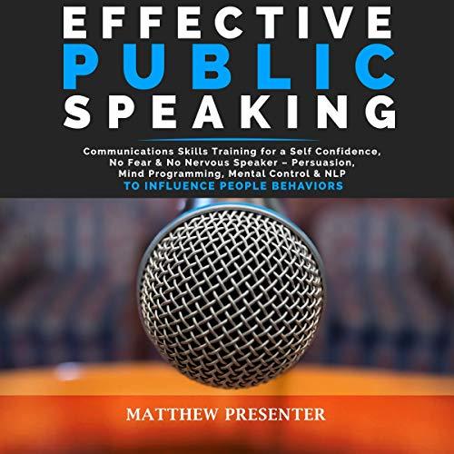 Effective Public Speaking cover art