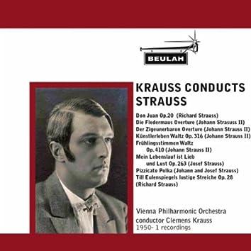 Krauss Conducts Strausss