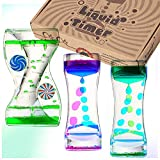 Obeda 3 Pack Liquid Motion Timer - Funny Sensory Toy for Relaxation