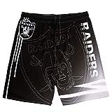Raiders Men's Board Shorts Water Sport Printed Quick Dry Drawsting Shorts 2XL