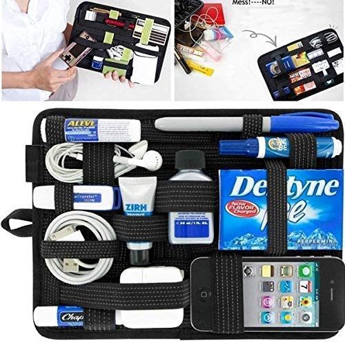 Divinz Vehicle Storage Plate Grid it Electronics Cosmetics Tool Any Other Organizer Bag