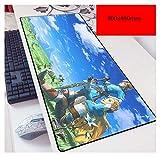 NBPRO Anime Mouse Pad 900x400 mm Pad per Mouse del Computer notbook Mousepad Gioco di Gioco padmouse Gamer per Grande Tastiera tappetini per Mouse Zelda-6