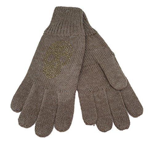 CODELLO 32098303 D09 [35] Poetry Grunge Knit Handschuhe - braun (COL 04)