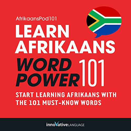 Learn Afrikaans - Word Power 101 audiobook cover art
