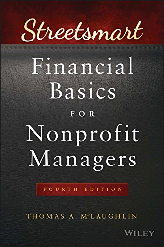 Image OfStreetsmart Financial Basics For Nonprofit Managers (Wiley Nonprofit Law, Finance And Management Series)