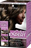 Schwarzkopf Color Expert Intensiv-Pflege Color-Creme, 5.0 Mittelbraun Stufe 3, 3er Pack (3 x 167 ml)