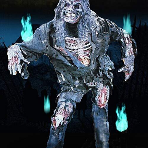 Bluelover Adulto Halloween Disfraz Zombie Cadavre Momie Mort Cosplay Pour Carnaval Único