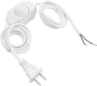YDong Azul Tono de oro Interruptor giratorio regulador de rango completo de lampara de mesa 2 maneras