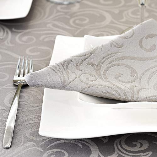 BGEUROPE Lyon - Tovaglia da tavolo con trattamento antimacchia, taglia