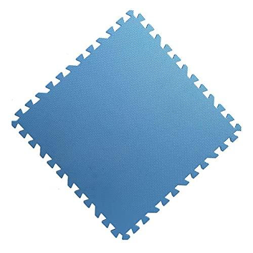 LOKIH Alfombrillas para Puzzlesgran Flexibilidad Y Durabilidad,Azul,2.0cm(6pcs)