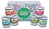 Super Garden colección gourmet liofilizada - Producto 100% puro y natural - Apto para veganos - Sin azúcares, aditivos artificiales ni conservantes añadidos - Sin gluten - No OMG
