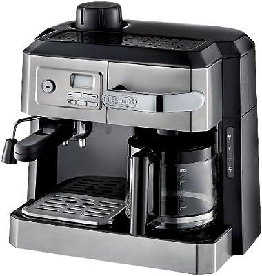 DeLonghi BC0330T Combination Drip Máquina de café y expreso