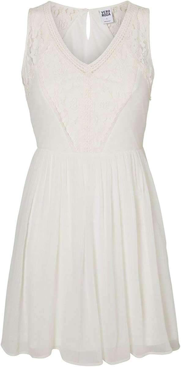 VERO MODA Women's Freja Sleeveless Mini Dress