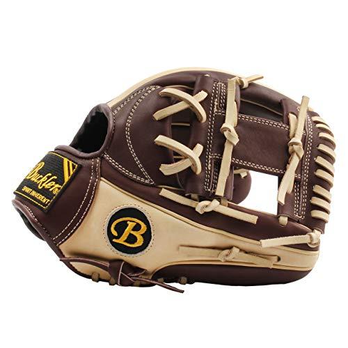 BUCKLER Phalanx-Serie – Premium USA Steerhide Erwachsene Baseball-Handschuhe – Infield – 29,2 cm – RHT