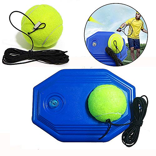 Gurxi Allenatore di Tennis Palla Rebounder Allenatore di Tennis Palline Corda per Battiscopa di...