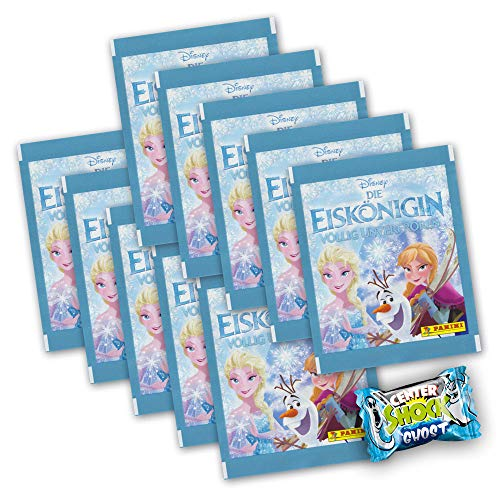 Die Eiskönigin Mein Stickertagebuch Völlig unverfroren - 10 Booster 50 Sticker + Center Shock - deutsche Ausgabe