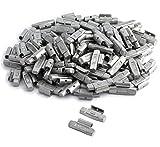 DWT-Germany 100596 100 Stück 30g Schlaggewichte Auswuchtgewichte Wuchtgewichte Für Aluminiumflegen