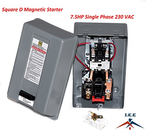 Elimia Air Compressor or Pump Motor Starter 120VAC Coil 12-18 Amp 1 3 7.5 10 HP